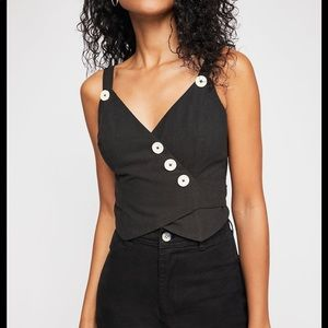 Free People a little tied up cami